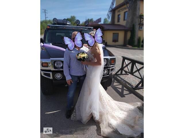 бу Продаю свадебное платье Продам Свадебное платье продам с жемчугом и камнями Италия Лодочка в Виннице