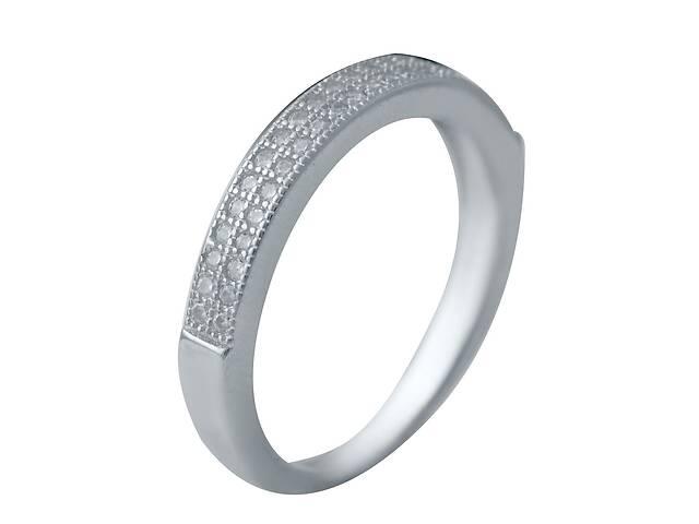 продам Серебряное кольцо с фианитами (2036593) 15.5 размер бу в Харкові
