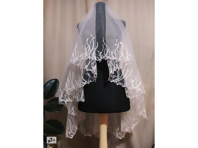 бу Свадебная фата компьютерная вышивка вышивка кружево в Миргороде