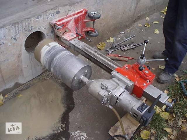 купить бу Алмазное сверление отверстий, резка бетона БЕЗ ПЫЛИ.  в Украине