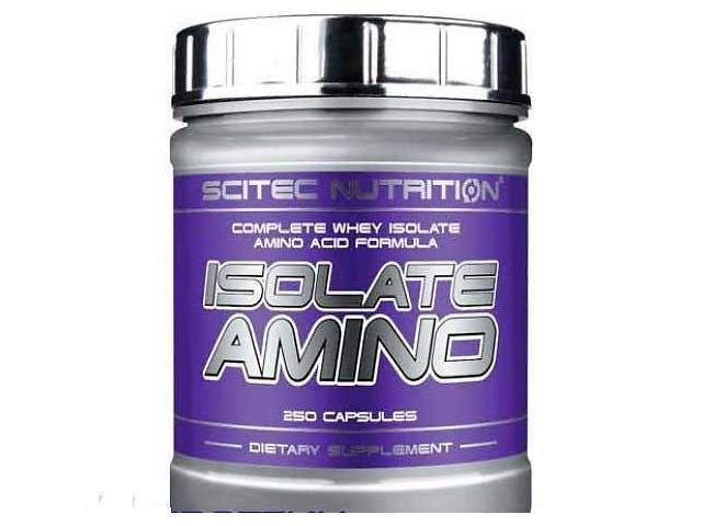 Аминокислоты Scitec Nutrition Isolate Amino 250 caps