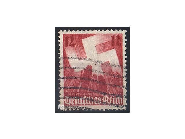 бу 1936 - Рейх - Партсъезд в Нюрнберге Mi.633 в Ровно