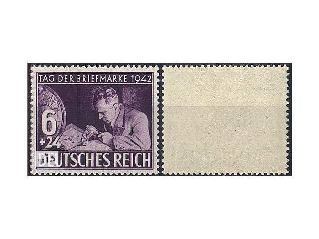 продам 1942 - Рейх - День марки Mi.811 ** бу в Ровно