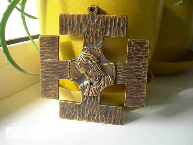 продам Панно, крест, рельеф, бронза, Франция, авторское клеймо бу в Киеве