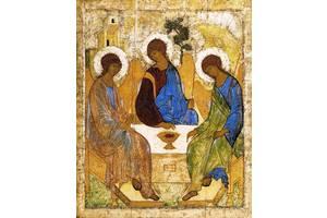 "Икона ""Троица"". Андрей Рублев (закажите размер) 200, 168"