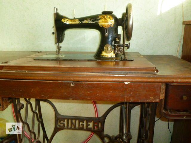 купить бу Антикварная швейная машинка Singer в Киеве