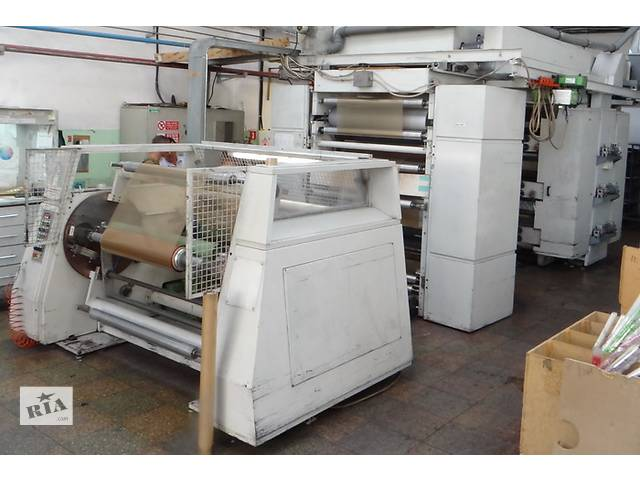 продам Флексографская шестицветная печатная машина 1200мм бу в Черкассах