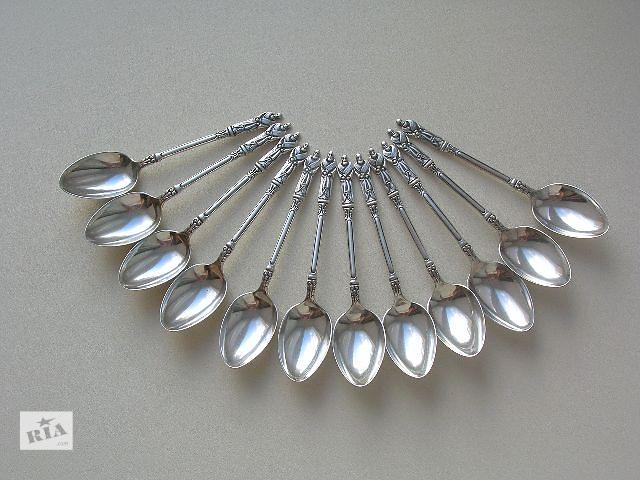 бу Апостольские ложки 1913 год. Серебро 925 пробы (sterling silver). Англия в Киеве