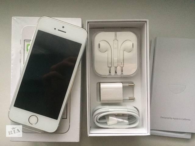 Apple iPhone 5S 16GB Silver/ NeverLock/ новий(RFB) Оригінал.- объявление о продаже  в Дніпрі (Дніпропетровськ)