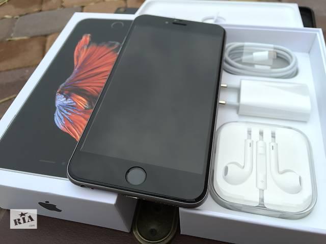 бу Apple iPhone 6s Plus 128gb Space Gray NeverLock!! как НОВЫЙ!! +Стекло!! в Нежине