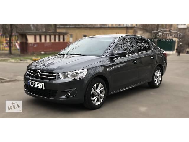 купить бу Аренда авто, прокат автомобиля Citroen C-elysee 2017, ГАЗ в Киеве