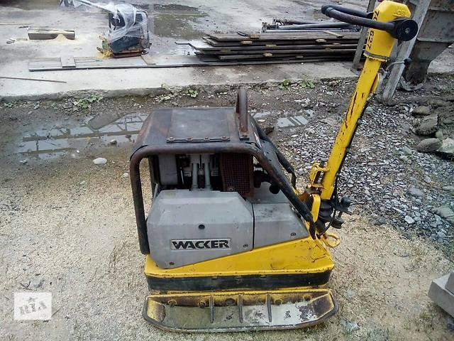 продам Аренда / прокат виброплиты виброплита трамбовка Wacker DPU 6055 476 кг бу в Волынской области