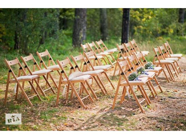 купить бу Аренда стульев изо, мягких стульев, складных белых свадебных стульев, в Харьковской области