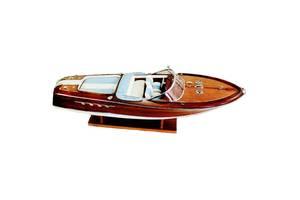 Декоративная яхта Sea Club 550259 19х67х20 см.  деревянная