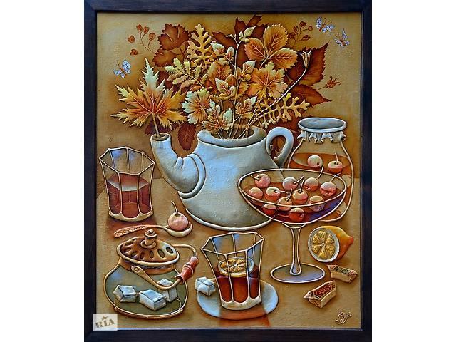 купить бу Картина Чайный букет  в Украине