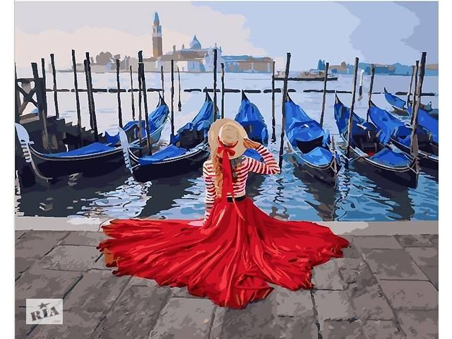 """Картина по номерам. Brushme """"Девушка у причала Венеции"""" GX24895- объявление о продаже  в Одессе"""
