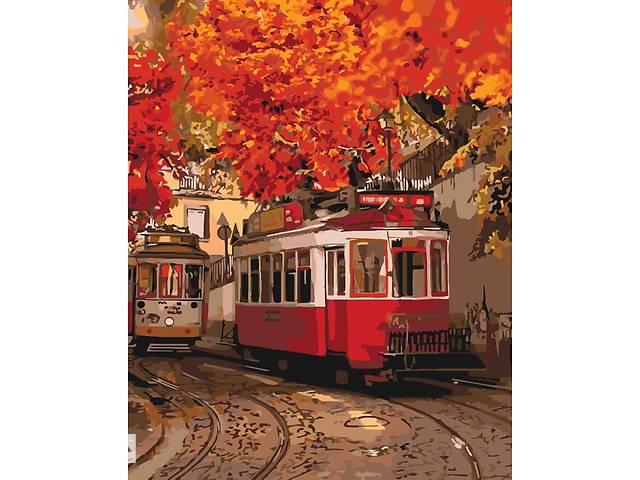 """Картина по номерам. Городской пейзаж """"Краски осени"""" 40*50см * KHO3532- объявление о продаже  в Одессе"""