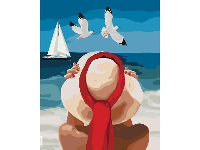 """Картина за номерами. Люди """"Морське насолоду"""" 40*50см * KHO4502- объявление о продаже  в Одесі"""
