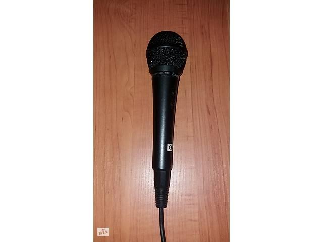 купить бу Микрофон динамический HAMA 46036 (600 Ом, 80дБ) в Киеве