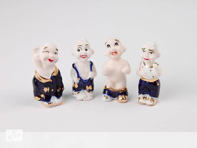 Статуэтка Lefard Клоуны 4 шт 6 см 98-786- объявление о продаже  в Дубно
