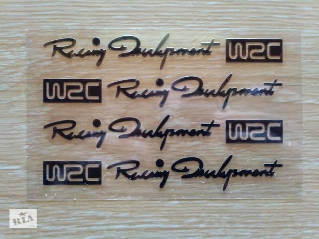 продам Наклейки на ручки WRC Черная ,диски, дворники , багажник бу в Борисполе