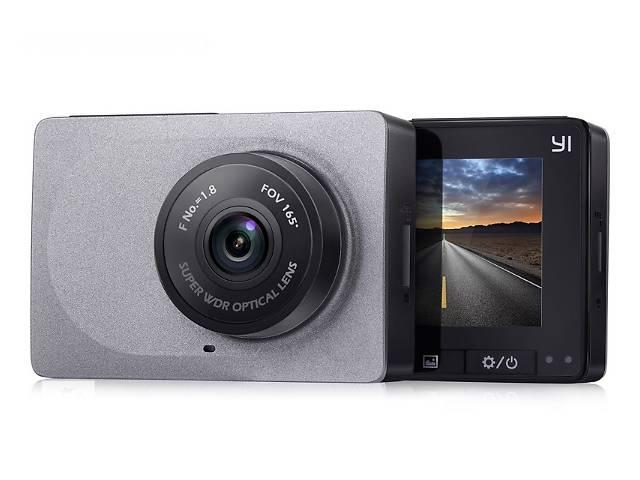 бу Xiaomi Yi Smart Car Dash Camera Grey Оригинальный Автомобильный Видеорегистратор + Гарантия 6 месяцев в Киеве
