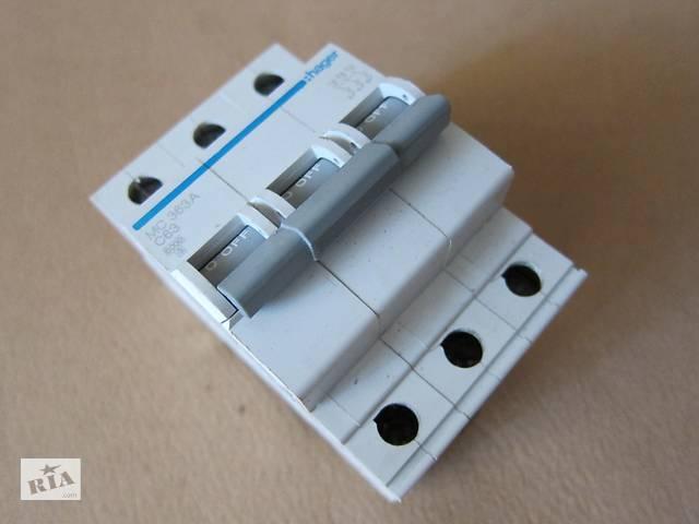 купить бу Автоматичний вимикач Hager MC 363A C63 в Києві