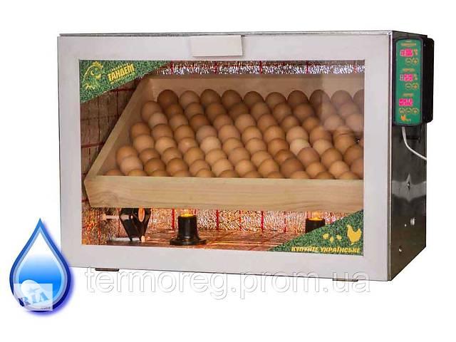 бу Автоматичний інкубатор для 80 яєць з регулюванням вологості в Харкові
