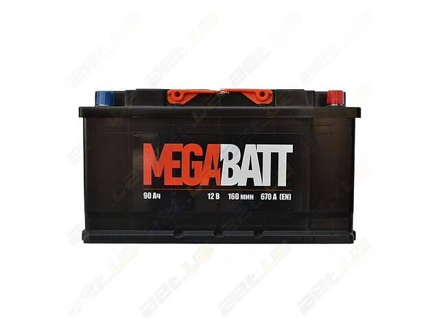 продам Автомобильный аккумулятор MegaBatt 90Ah R+ 670A бу в Одессе