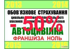 Автоцивілка, Зелена карта м.Рівне від 450 грн.