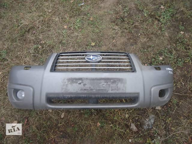 бу Б/у бампер передний для кроссовера Subaru Forester в Киеве