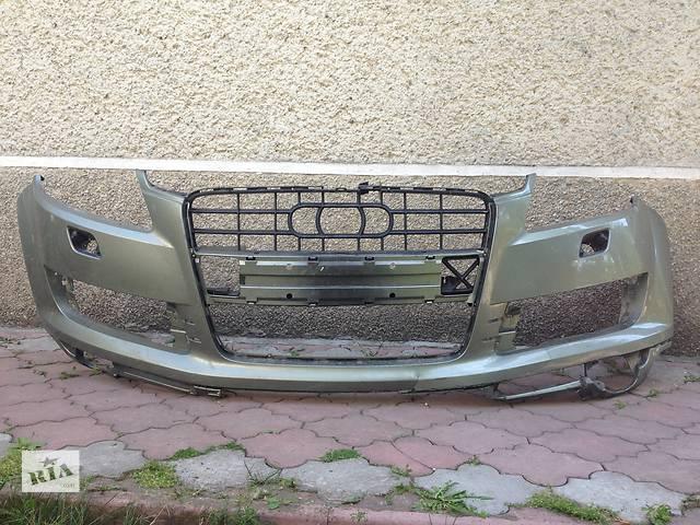 продам Б/у бампер передний для легкового авто Audi Q7 бу в Ивано-Франковске