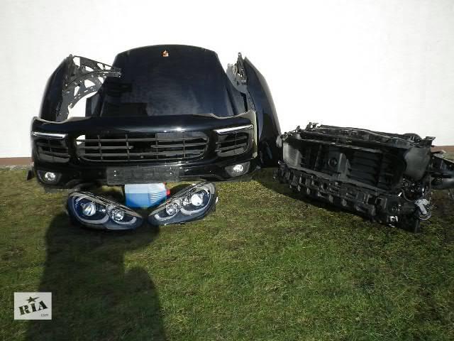 купить бу Б/у бампер передний для легкового авто Porsche Cayenne 04-15 морда комплектная запчасти в Львове