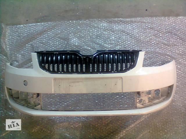 Б/у бампер передний для легкового авто Skoda Octavia A7- объявление о продаже  в Киеве