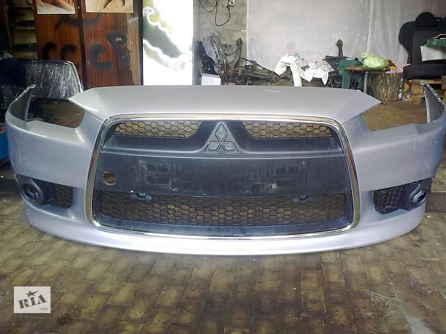 бу Б/у бампер передний  Mitsubishi Lancer X в Киеве