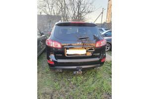 Б/у бампер задний для Hyundai Santa Fe 2009 - 2012