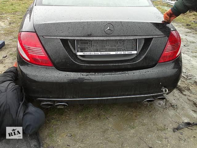 продам Б/у бампер задний для купе Mercedes CL 550 бу в Львове