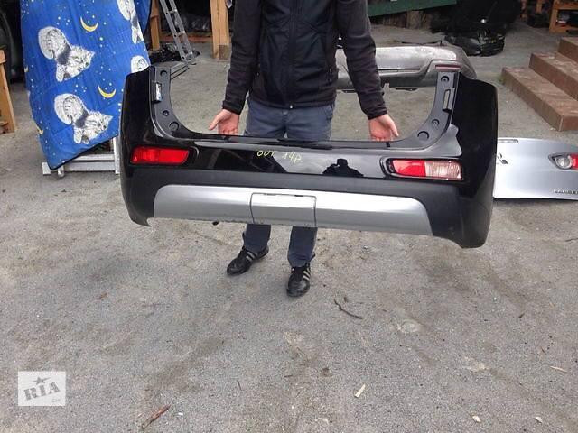 купить бу Б/у бампер задний для легкового авто Mitsubishi Outlander в Ровно
