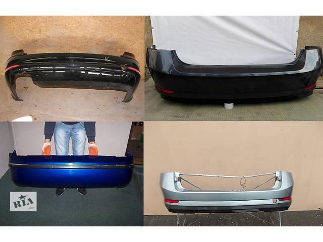 купить бу Б/у бампер задний для легкового авто Skoda SuperB в Львове