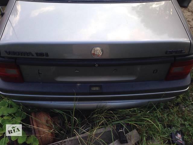 бу Б/у бампер задний для седана Opel Vectra A в Львове