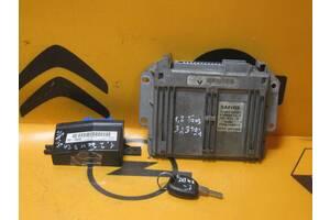 Б/У Блок управления двигателем, иммобилайзер, чип ключа, ( комплект)  RENAULT KANGOO 1 1997-2007