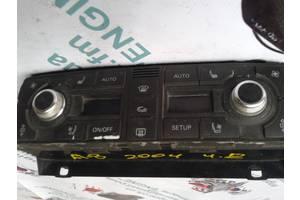 б/у Блоки управления печкой/климатконтролем Audi A8