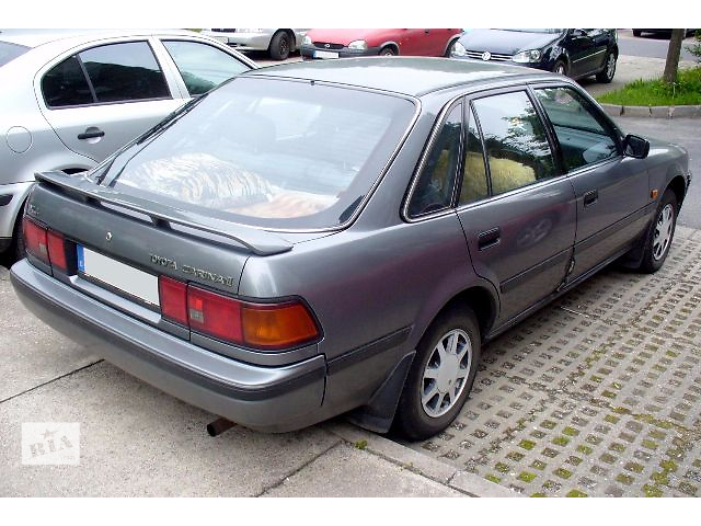 бу Б/у четверть автомобиля для хэтчбека Toyota Carina 1990 в Николаеве