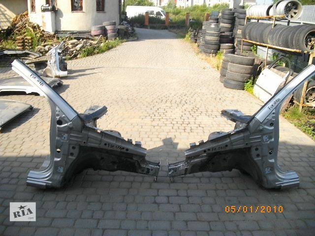 продам Б/у четверть автомобиля для легкового авто Ford Fiesta 2007 бу в Львове