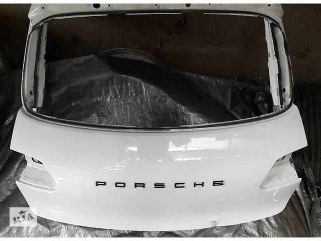 купить бу Б/у крышка багажника для легкового авто Porsche Macan в Киеве