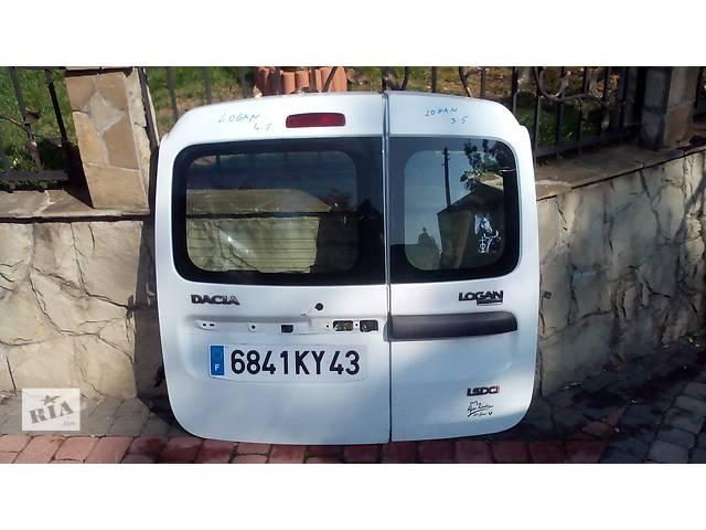 продам Б/у дверь задняя для легкового авто Рено Renault Дачия Dacia Логан Logan бу в Львове
