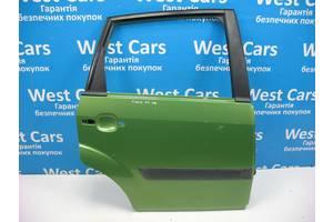 Б/У Дверь задняя правая зеленая крашеная Fiesta 2002 - 2008 . Вперед за покупками!
