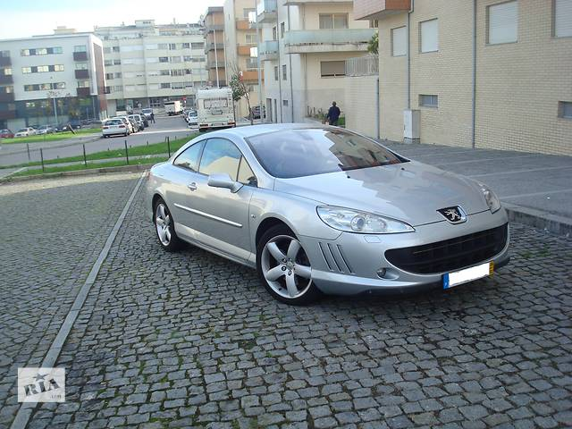 Б/у двері передні для купе Peugeot 407 Coupe- объявление о продаже  в Бережанах (Тернопольской обл.)