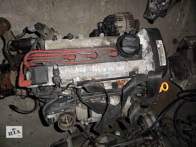 продам Б/у Двигатель Audi A3 1,4 бензин 16V № AUB бу в Стрые