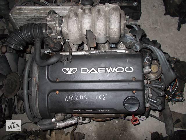 продам Б/у Двигатель Chevrolet Nubira 1.6 бензин 16V № A16DMS бу в Стрые